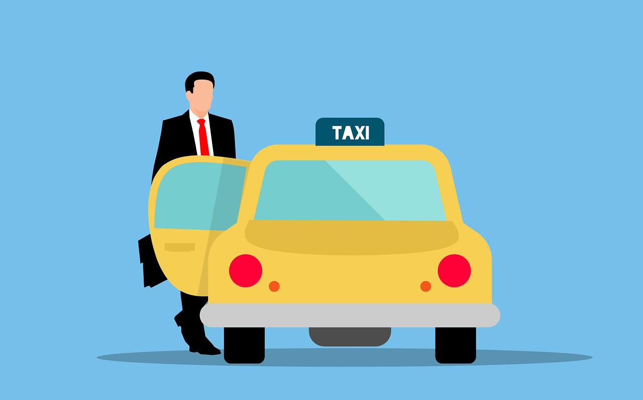 vervoer vergadering taxi